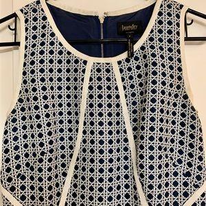 Laundry by Shelli Segal Patterned Shift Dress